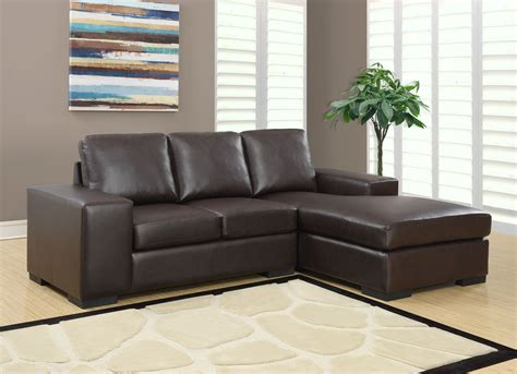 sofa match dark brown match sofa sectional from monarch 8200br