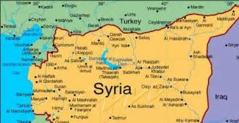 Turkey Syria Map by Losantiville Syrian Forces Storm Town Near Turkey Border