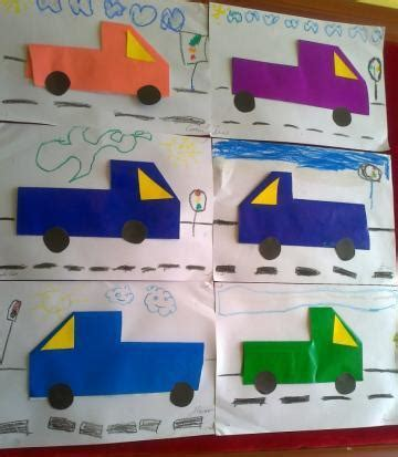Origami Truck - crafts actvities and worksheets for preschool toddler and