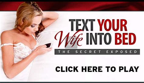 text your wife into bed text your wife into bed review scam or legit
