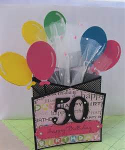 Best Friend 50th Birthday Card 50th Birthday Card Marti S Home Crafted Cards
