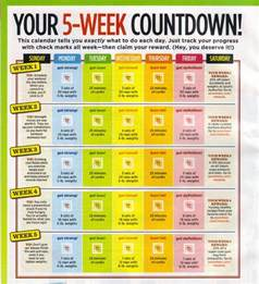5 week workout plan rules 1 exercise at least 5 days a