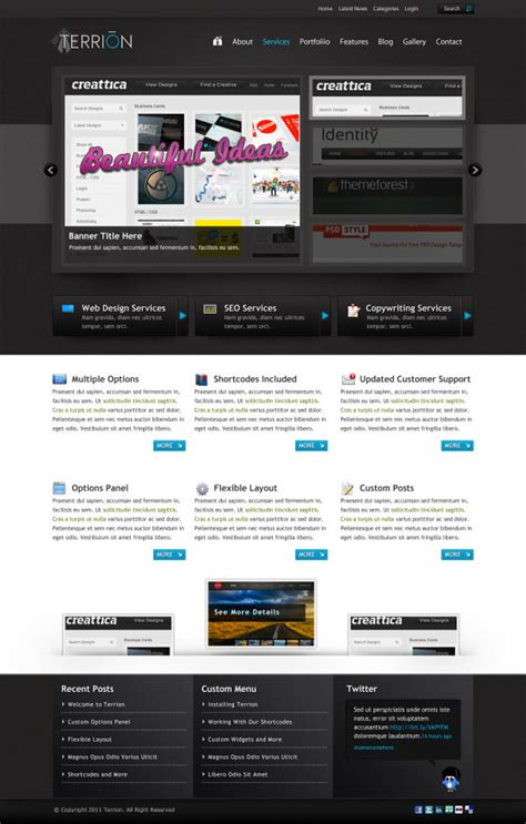 tutorial web template 36 high quality templates tutorials to design business