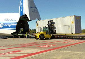 russian air freight specialist delivers logistics support for plane maker industry