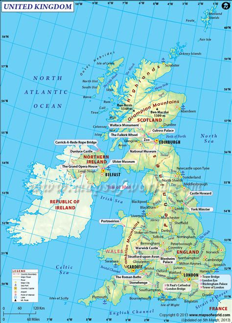 map uk road map uk united kingdom maps pictures