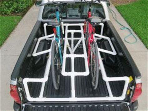Pop Up Cer Bike Rack Plans by Truck Bed Pvc Bike Rack Garage
