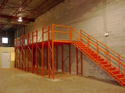 Surplus Racking by Engineered Mezzanines And Raised Storage Platforms Bc
