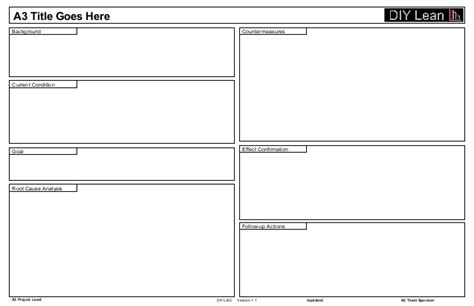 project a3 template a3 slide template 11 x 17