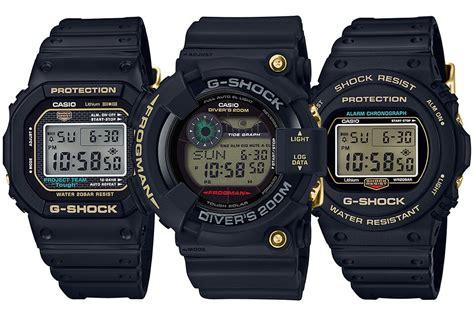 Gshock 35th Anniversary Ga835 Original g shock 35th anniversary origin gold back collection dw 5035d 1b dw 5735d 1b gf 8235d