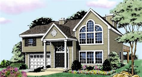 split entry home plans greenfield 3387 4 bedrooms and 3 5 baths the house designers