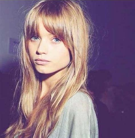light straight bangs light brown hair with blonde bangs life style by
