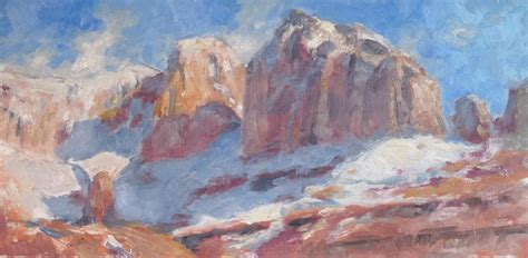 plein air paintings from paint snow hill featured in may a plein air painter s blog michael chesley johnson