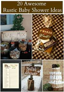 Camouflage Decorating Ideas Party 20 Rustic Baby Shower Ideas Rustic Baby Chic