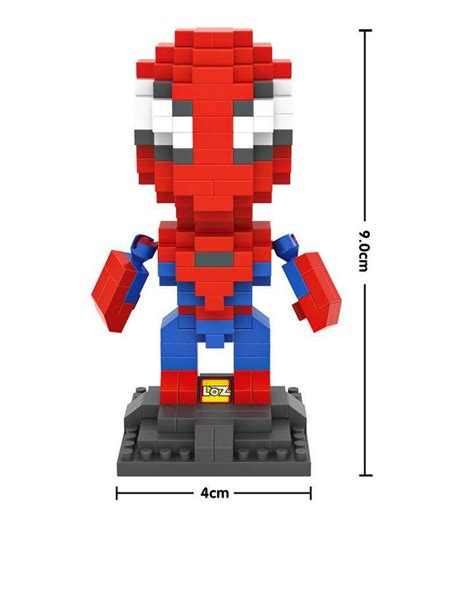 Loz Nano Block Avenger Loki Big loz blocks big avenger blocks micro blocks diy building