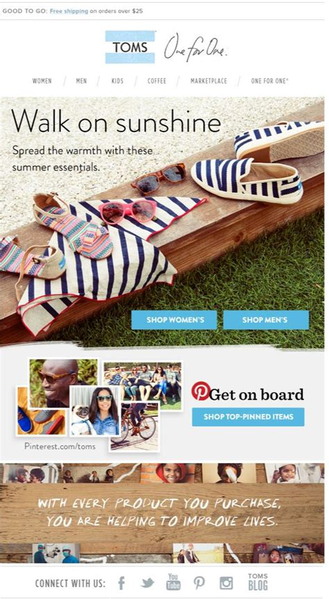 the 315 best images about fashion newsletters on email newsletters toms and free 315 best images about fashion newsletters on email newsletters toms and free