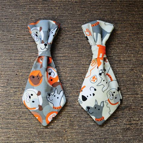 neckties for dogs pattern tie bow wow ties theme