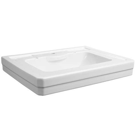 16 wide pedestal sink fitzgerald 28 inch pedestal sink single dxv