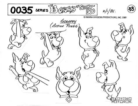 more scrappy doo colouring pages page 2