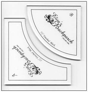 drunkards path template 3 5 inch drunkard s path template gift giving products