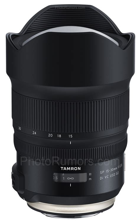 tamron   announce   sp  mm   vc usd