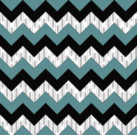 Chevron Pattern pattern print chevron blue green black and willows