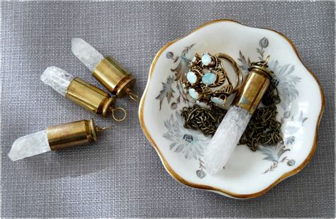 how to make bullet shell jewelry top 10 magical diy quartz jewelry top inspired