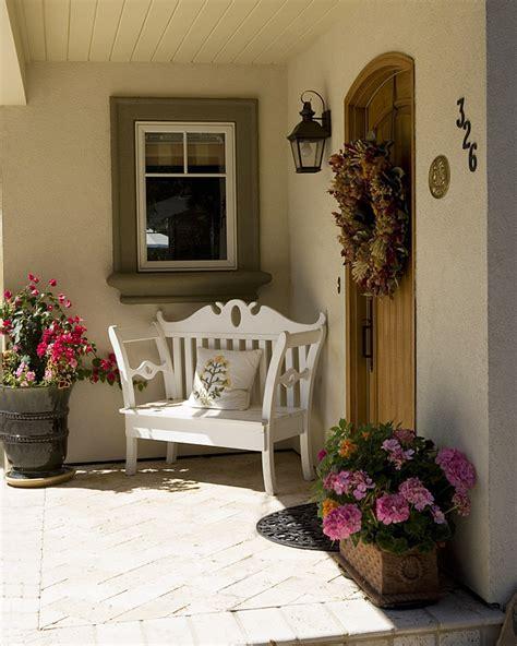 front door entrance ideas quiet corner