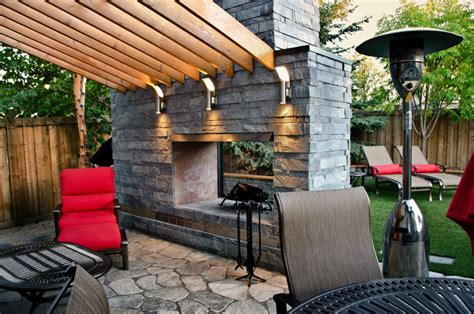Backyard Ideas Edmonton 70s Inspired Edmonton Back Yard Contemporary Patio