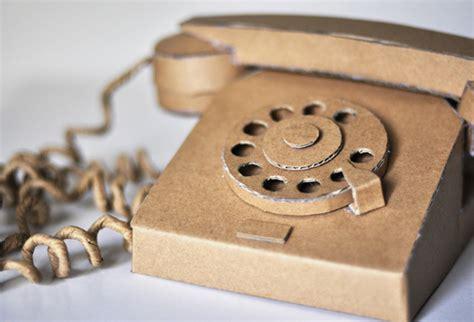 como hacer un telefono de carton el blog de carlos parra
