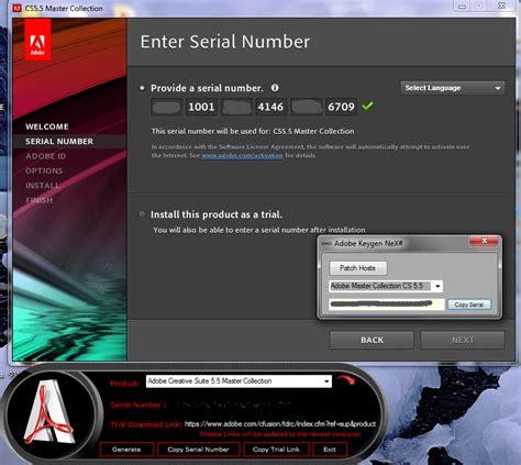 5 serial number adobe cs5 5 master collection tek link indir