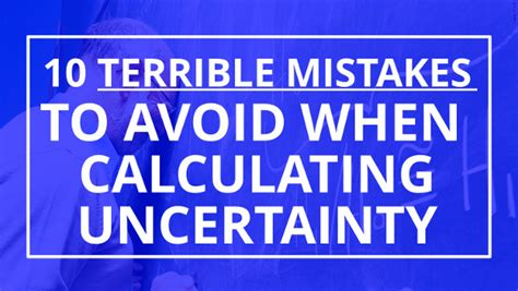 terrible mistakes to avoid when you make your cashier resume calculating uncertainty 10 terrible mistakes you need to