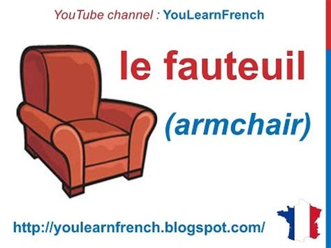 french lesson  furniture  french vocabulary les