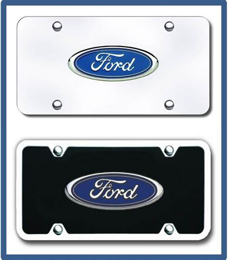 Ford Vanity Plates ford license plates vanity logo tags