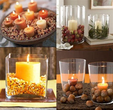 fun fall candle decor ideas arts and crafts pinterest bathrooms decor glasses and the flame