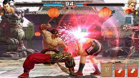tekken android apk tekken mod apk mobile android 1 0 2 andropalace