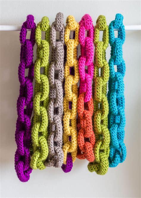 chain link scarf crochet pattern crochet scarf pattern