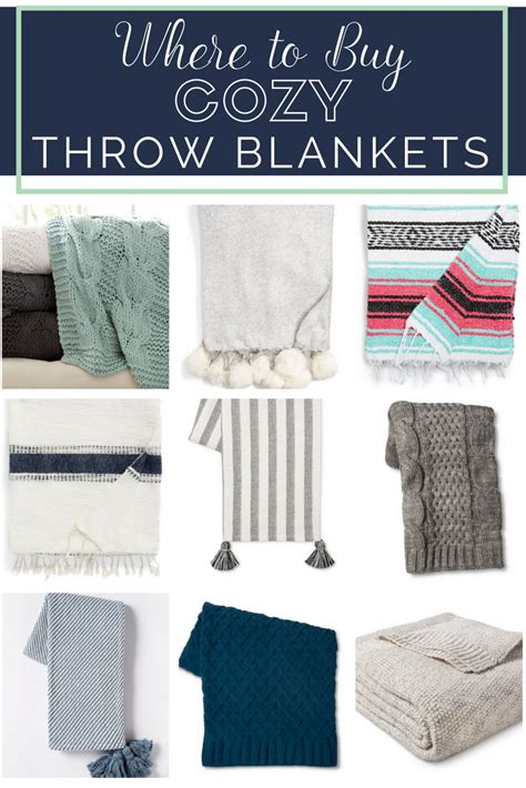 Where To Buy Throw Blankets by Where To Buy Cozy Throw Blankets For Fall