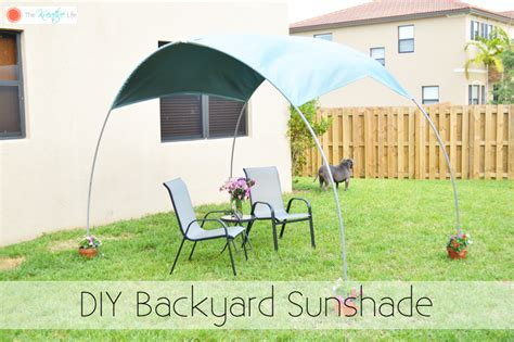diy backyard shade 25 things to make with pvc pipe