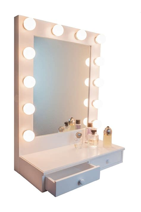 makeup mirror stand with lights ideas for making your own vanity mirror with lights diy