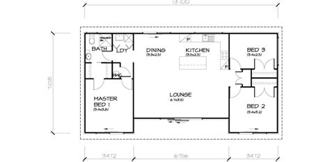 3 bedroom transportable home 93sqm