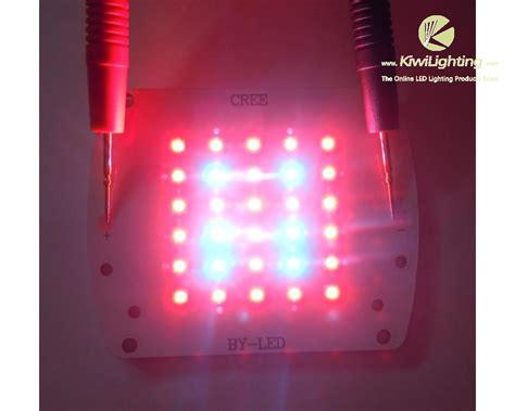 10 cree led grow light 100w cree xp e r3 led grow light 24 red leds 6 blue leds