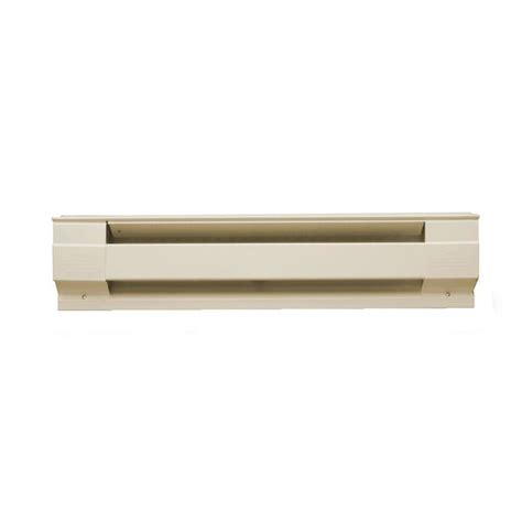 low wattage baseboard heaters shop cadet 72 in 240 volt 1500 watt standard electric