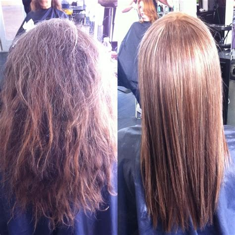 haircut before or after brazilian blowout styled by laura cut and color brazilian blowout before