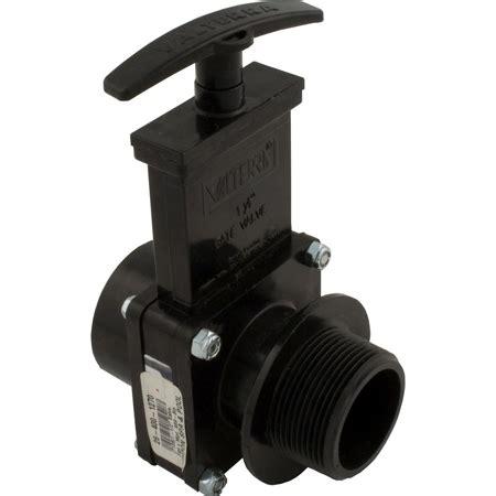 Kran Abs Valve 12 hesco inc valterra 7108 abs gate valve black 1 1 2 quot fpt x mpt