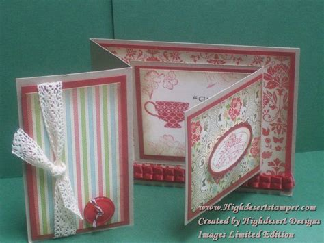 Accordion Gate Fold Card Template by Scrapbook Card Carte Pliage Special