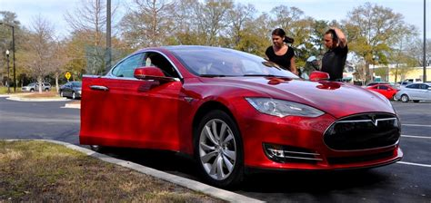 2014 Tesla Model S Review 3 2s 2015 Tesla Model D Arriving In February With Awd And