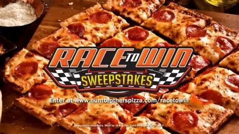 Hunt Brothers Pizza Sweepstakes - hunt brothers pizza tv commercial race to win sweepstakes ispot tv