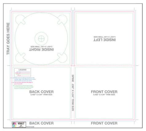cd cover template for mac crear un cd de la cubierta uso de una plantilla indesign