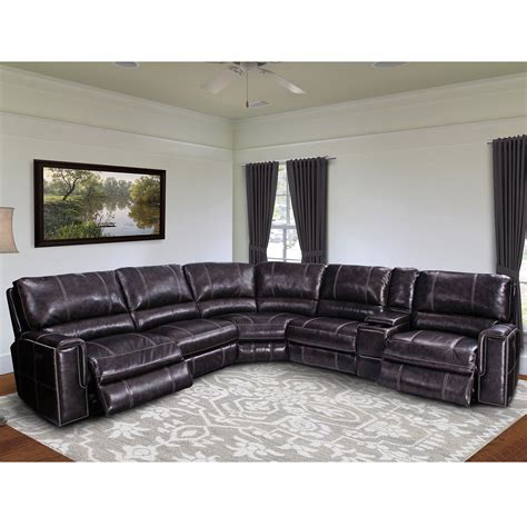 dynamic home decor parker house msal 6pc sectional salinger 6 piece sectional