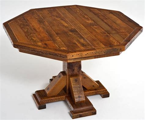 Expandable Dining Room Tables Wooden Octagon Dining Table Round Wood Dinette Custom